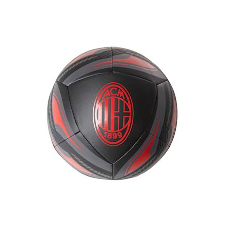 AC Milan ICON 축구공/ACM ICON Ball, Puma Black-Tango Red, small-KOR