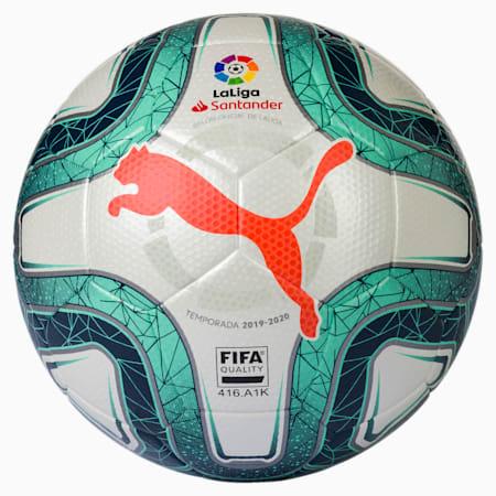 LaLiga 1 FIFA Quality Football, White-Green Glimmer-Nrgy Red, small-SEA