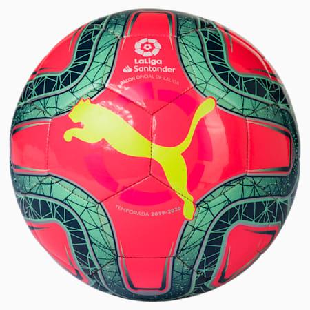 La Liga 1 Mini Ball, Pink-Yellow-Green Glimmer, small