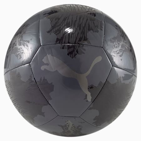 Spin Training Football, Puma Black-Asphalt, small
