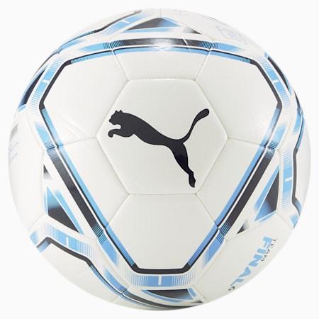 Pelota Manchester City FC FINAL 2.0 6, Puma White-Team Light Blue, pequeño