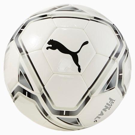 Piłka nożna Valencia CF Final 6, Puma White-Puma Black, small