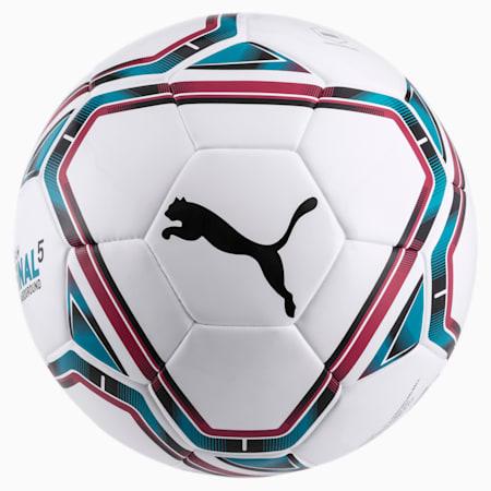 Pallone da calcio teamFINAL 21.5 Hardground, White-Rose Red-Ocean Depths, small