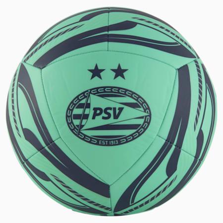 Balón de fútbol de training PSV Eindhoven Fan, Green Glimmer-Astral Aura, small