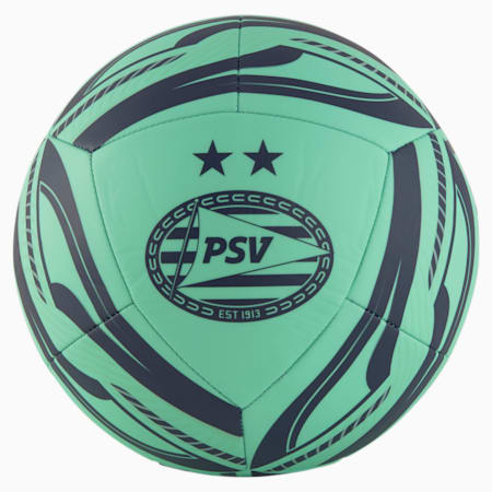PSV Eindhoven Fan Training Football, Green Glimmer-Astral Aura, small