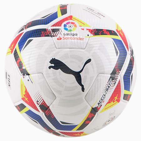 La Liga Accelerate FIFA Pro Quality Match Ball, Puma White-multi colour, small