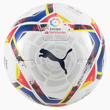 La Liga Accelerate FIFA Match Ball, Puma White-multi colour, small