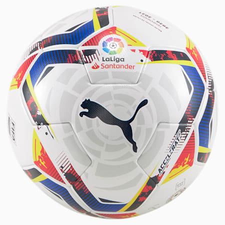 La Liga Accelerate FIFA Match Ball, Puma White-multi colour, small