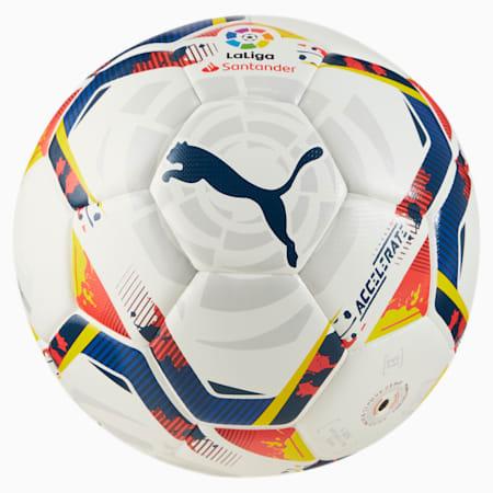La Liga Accelerate Hybrid Training Football, Puma White-multi colour, small-SEA