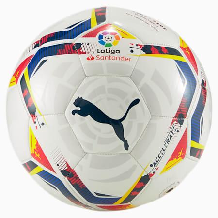 La Liga Accelerate Mini Training Football, Puma White-multi colour, small