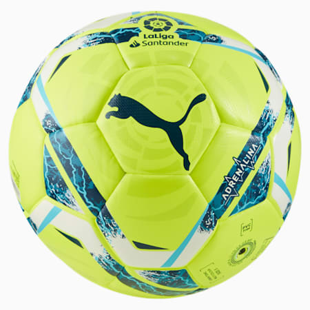 La Liga Adrenalina Hybrid wedstrijdbal, Lemon Tonic-multi colour, small