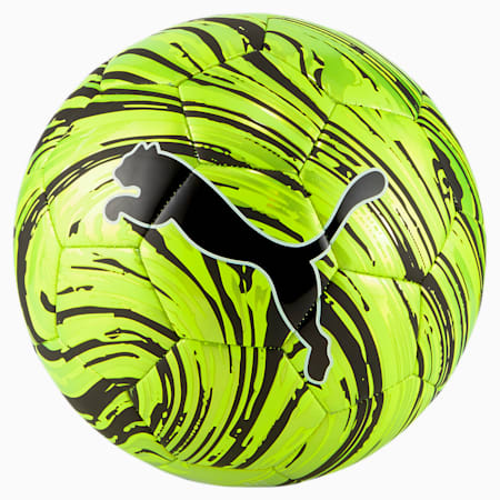 Shock Football, Yellow Alert-Puma Black, small-GBR