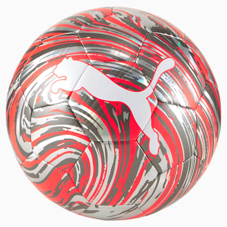 PUMA Shock Ball, Red Blast-Puma White, small