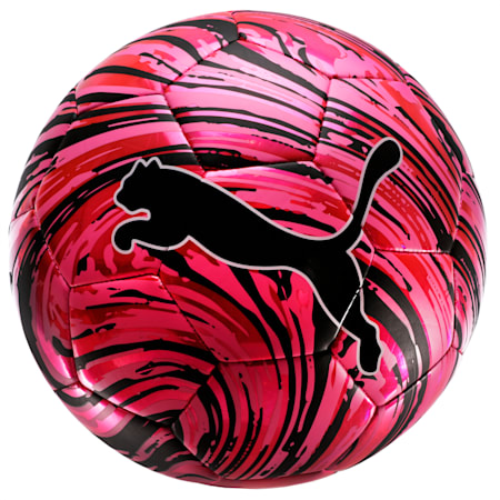 Ballonà choc PUMA, Rose lumineux-Noir Puma-Blanc Puma, petit