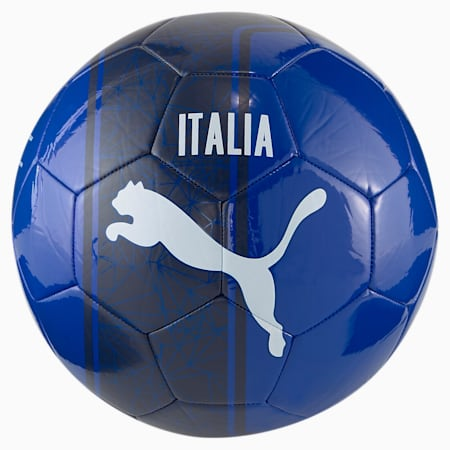Euro Cup Non-Licensed Training Football, Team Power Blue-Peacoat, small