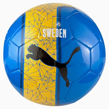 Pallone da calcio per allenamento senza licenza, Spectra Yellow-Puma Royal, small