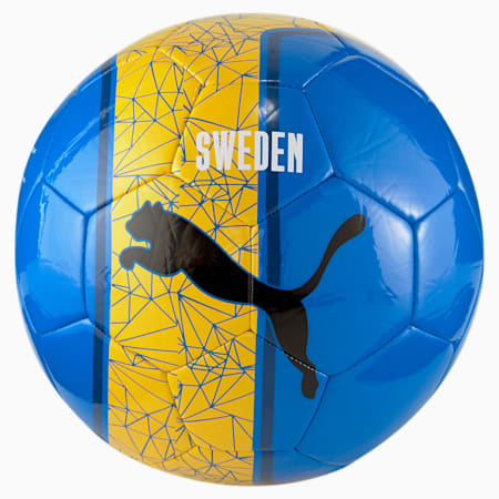 Non-Licensed Training Football, Spectra Yellow-Puma Royal, small