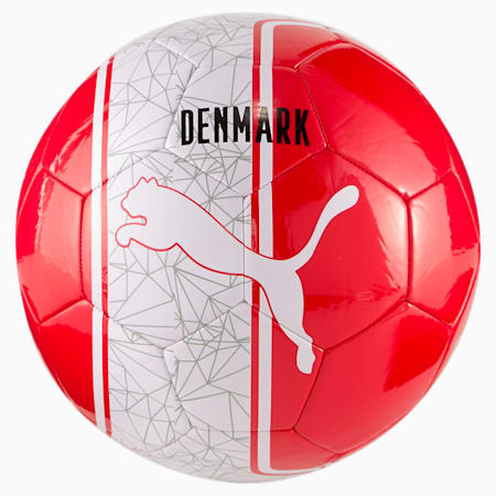 Euro Cup Non-Licensed Training Football, High Risk Red-(DENMARK), small