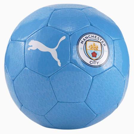 Man City FtblCore Fan Football Ball, Team Light Blue-Puma White, small