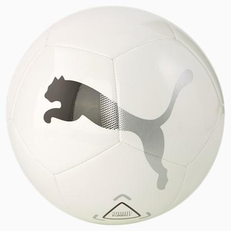 Icon 축구공/PUMA ICON ball, Puma White-Puma Black-Metallic Silver, small-KOR