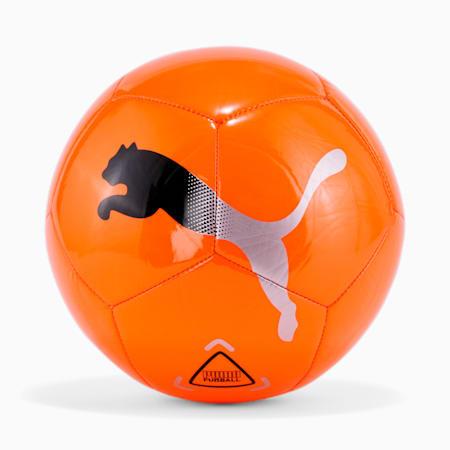 Ícono del fútbol, Shocking Orange-Black-Silver, pequeño