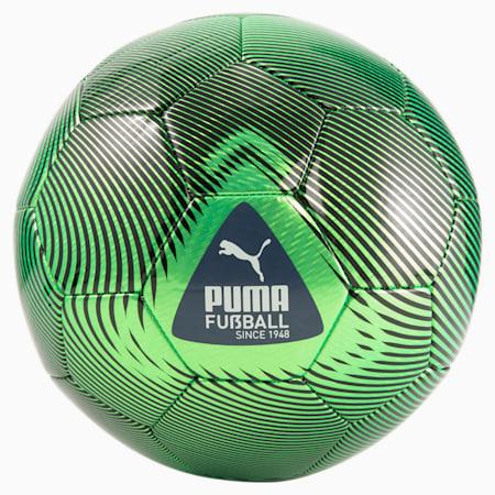 FUßBALL Cage voetbal, Green Glare-Puma White-Puma Black, small