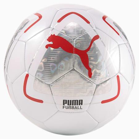 FUßBALL Park Football, Puma White-Elektro Aqua-Sunblaze, small-GBR