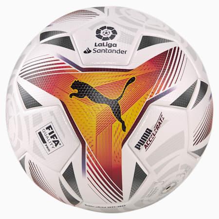 La Liga 1 Accelerate FQP Football, Puma White-multi colour, small
