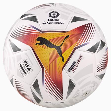 La Liga 1 Accelerate FQ Football, Puma White-multi colour, small