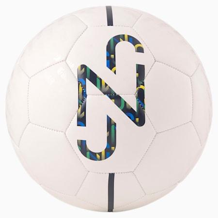 Neymar Jr Fan Training Football, Puma White-multi colour, small-SEA