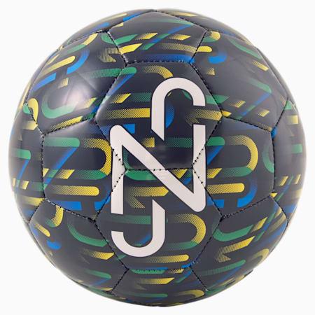 Neymar Jr Graphic Mini Ball, Peacoat-Dand-Jelly Bean-Wht, small