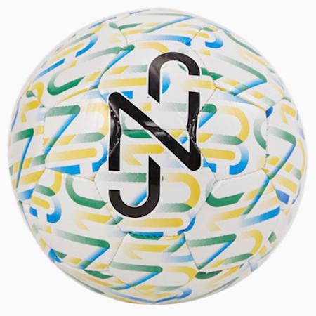 Mini ballon graphique Neymar, enfant, Blanc Puma-Pissenlit-Vert amazone-Noir Puma, petit