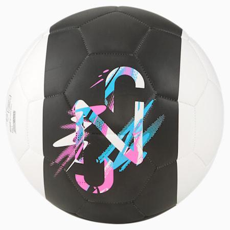 네이마르 주니어 로고 볼/Neymar Jr Logo ball, Black-White-Pink-Blue, small-KOR