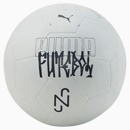 Pelota de fútbol Neymar Jr Streetball, Nimbus Cloud-Ebony, pequeño