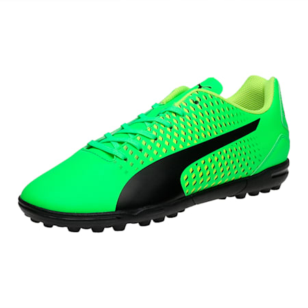 Adreno III TT Men's Football Boots, green-black-yellow, small-IND