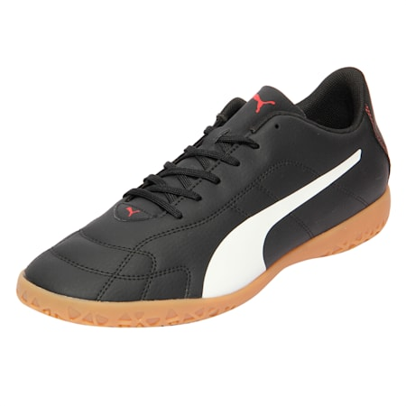 Classico C Indoor Men's Training Shoes, Black-White-Red, small-IND