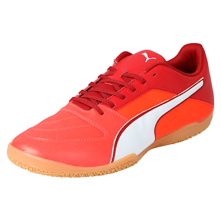 Gavetto II Men's Futsal Shoes, Red-White-Red Dahlia, small-IND
