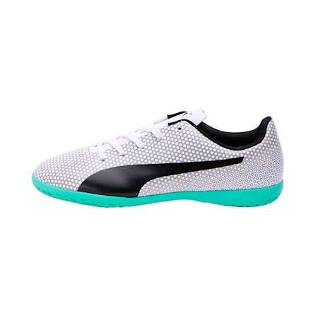 PUMA Spirit IT Jr Shoes, White-Black-Silver, small-IND