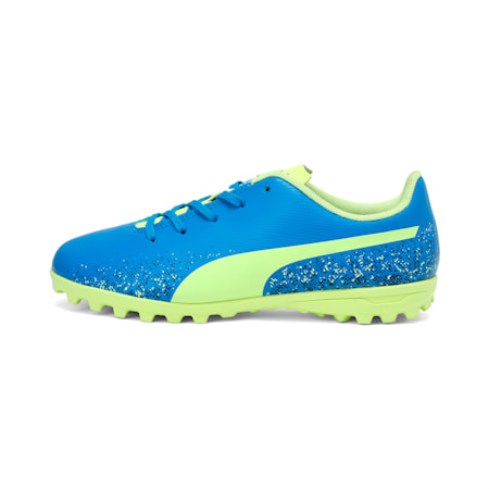 Truora TT Kids' Football Boots, Blue-Yellow-Black, small-IND