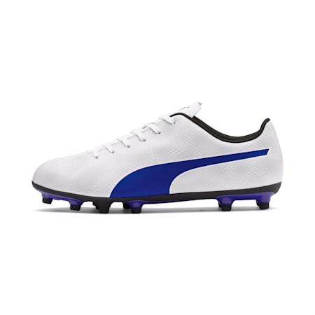 Rapido FG Men's Soccer Cleats, White-Royal Blue-Light Gray, small