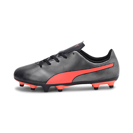 Rapido FG Youth Football Boots, Black-Nrgy Red-Aged Silver, small-IND