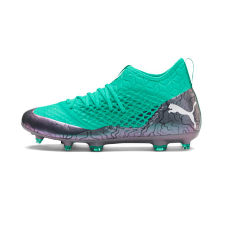 FUTURE 2.3 NETFIT FG/AG  Football Boots, Col Shift-Green-White-Black, small-IND