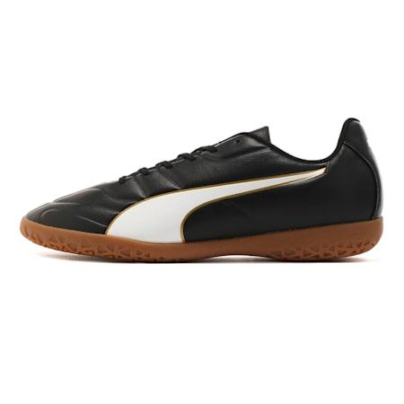 Classico C II Men's Football Boots, Puma Black-Puma White-Gold, small-SEA