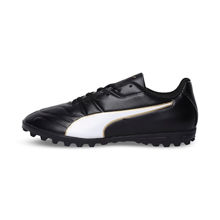 Classico C II TT Youth Football Boots, Black-White-Gold, small-IND