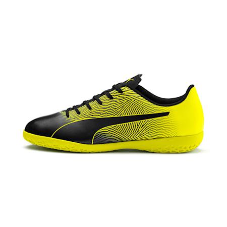 PUMA Spirit II IT Men's Football Boots, Puma Black-Yellow Alert, small-IND