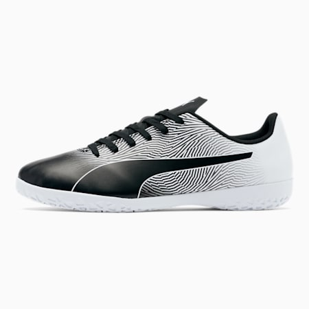 PUMA Spirit II IT Men's Soccer Shoes, Puma Black-Puma White, small