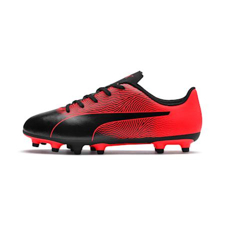 PUMA Spirit II FG Youth Football Boots, Puma Black-Red Blast, small-IND