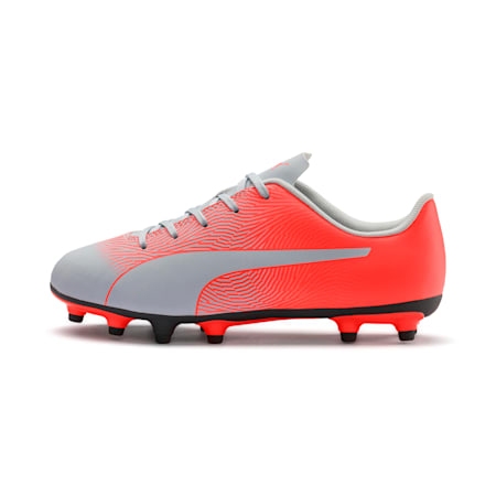 PUMA Spirit II FG Youth Football Boots, Glacial Blue-Nrgy Red, small-IND