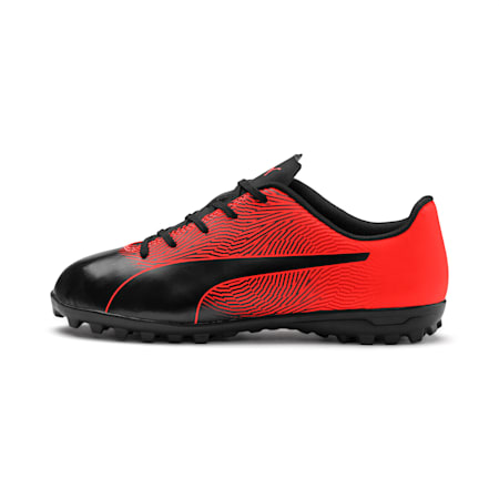 PUMA Spirit II TT Youth Football Boots, Puma Black-Nrgy Red, small-IND