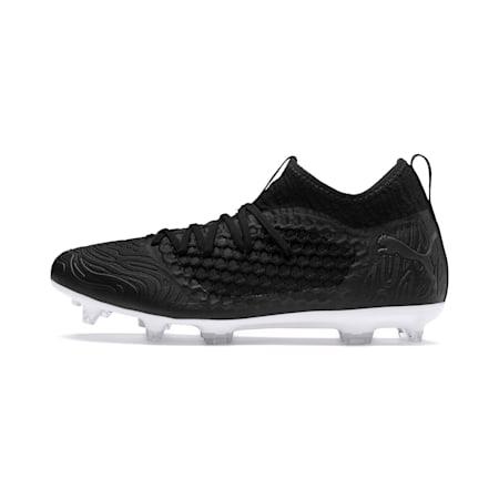 FUTURE 19.3 NETFIT FG/AG Men's Football Boots, Puma Black-Puma Black-White, small-IND